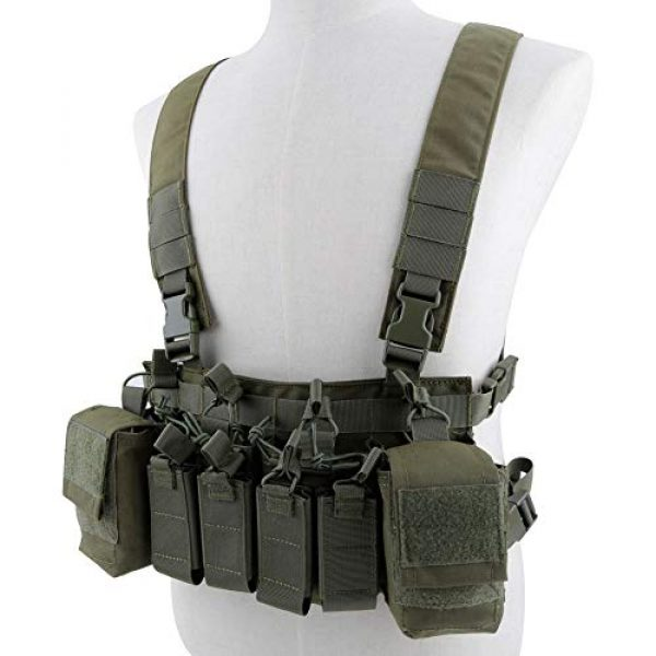 Tactical Area Airsoft Tactical Vest 1 CS Vest Multi-Functional Tactical Vest Breathable and Quick Release Lightweight Vest