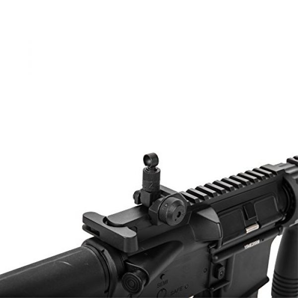 MetalTac Airsoft Rifle 4 MetalTac Electric Airsoft Gun M4 CQB 02 A&K with Full Metal Body, Metal Gearbox Version 2, Full Auto AEG, Upgraded Powerful Spring 380 Fps with .20g BBS