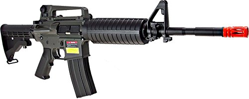 Jing Gong (JG) Airsoft Rifle 3 JG aeg-m1a4 nicads/charger included-metal gearbox(Airsoft Gun)