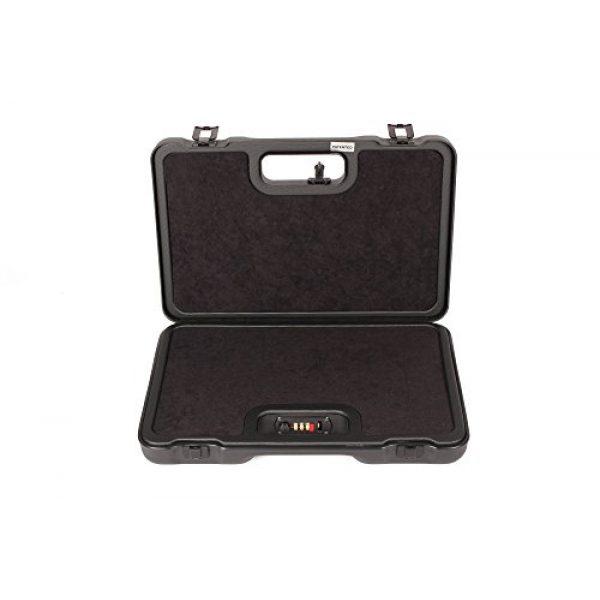 Negrini Cases Pistol Case 2 Negrini Cases 2023UTS/4839 Handgun Case (1 Gun), Black/Black