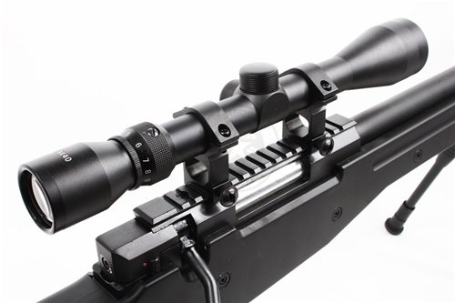 Well  6 Wellfire mk96 bolt action awp sniper rifle w/ 3-9x40 scope and bipod(Airsoft Gun)