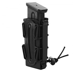 JFFCE Tactical Pouch 1 JFFCE 9mm Pistol Magazine Pouch mag Holder Tactical Fastmag Soft Shell Mag Carrier Hunting Airsoft Gear