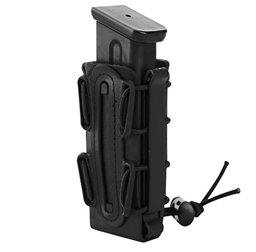 JFFCE  1 JFFCE 9mm Pistol Magazine Pouch mag Holder Tactical Fastmag Soft Shell Mag Carrier Hunting Airsoft Gear
