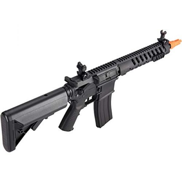 Lancer Tactical Airsoft Rifle 6 Lancer Tactical Classic Army Skirmish Series Delta 10 M4 Airsoft AEG Rifle Black 350 FPS