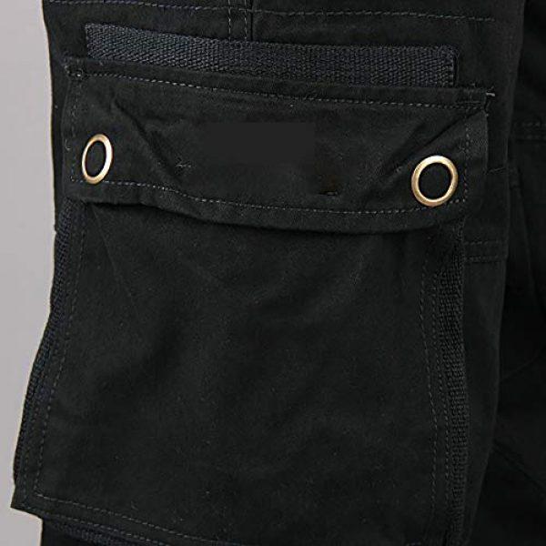 Raroauf Tactical Pant 4 Men's Military Tactical Pants Casual Cargo Pants Combat Trousers with Multi-Pocket