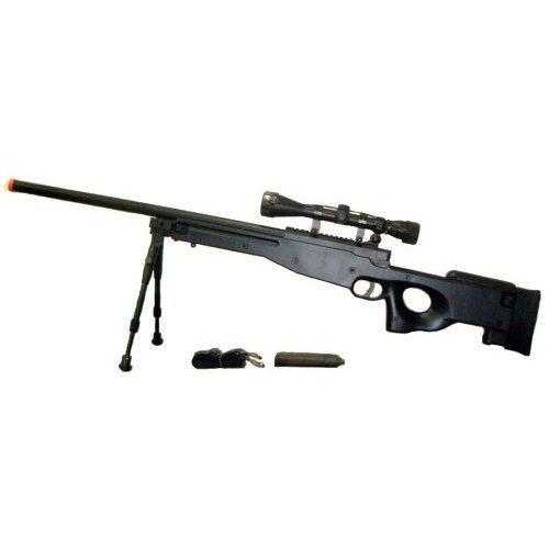 Airsoft  1 Airsoft AWP Sniper Rifle Tactical L96 3X Optical Scope