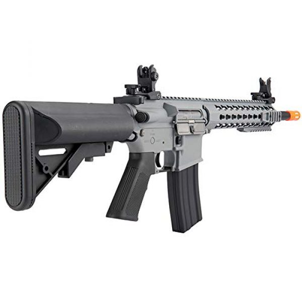 "Lancer Tactical Airsoft Rifle 4 LANCER TACTICAL Gen 2 LT-19 Carbine 10"" AEG Automatic Aerosoft Gun"