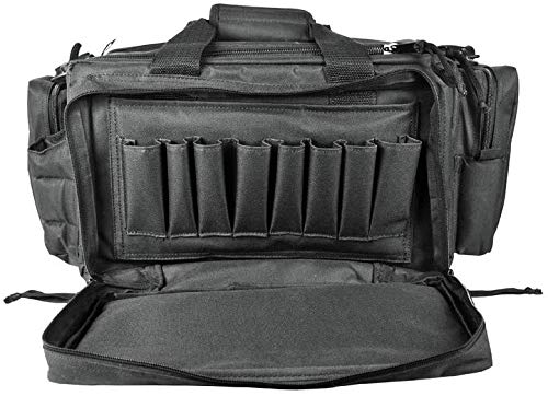 "3S Tactical Pistol Case 1 Range Bag Gun Ammo Bag Large Tactical Pistol Duffle Handgun Carrying Case Shooting Bag 24""x17""x10"""
