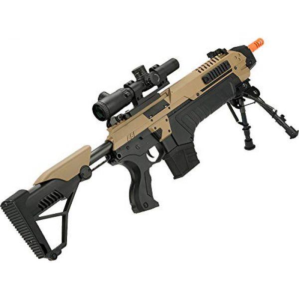 Evike Airsoft Rifle 2 Evike CSI S.T.A.R. XR-5 FG-1508 Advanced Airsoft Battle Rifle (Color: Tan)