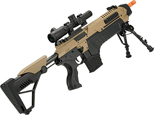 Evike Airsoft Rifle 2 Evike CSI S.T.A.R. XR-5 FG-1508 Advanced Airsoft Battle Rifle (Color: Tan)