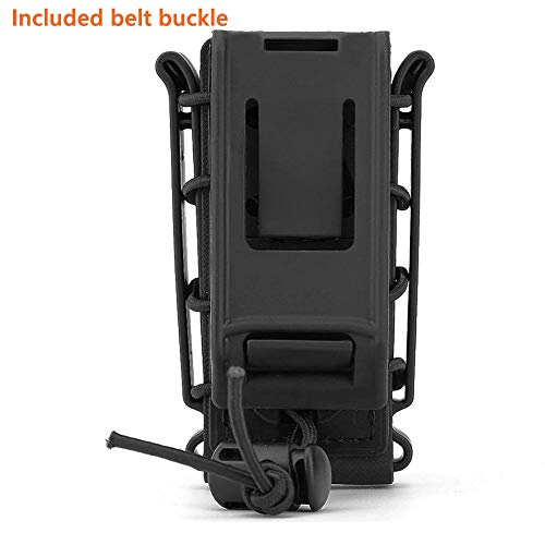 JFFCE  5 JFFCE 9mm Pistol Magazine Pouch mag Holder Tactical Fastmag Soft Shell Mag Carrier Hunting Airsoft Gear