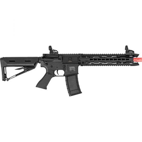 Valken Airsoft Rifle 2 Valken Battle Machine AEG V2.0 TRG-M (BLK)