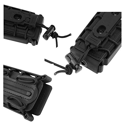 JFFCE  4 JFFCE 9mm Pistol Magazine Pouch mag Holder Tactical Fastmag Soft Shell Mag Carrier Hunting Airsoft Gear