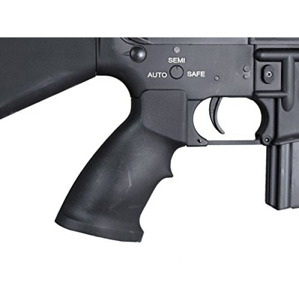 MetalTac Airsoft Rifle 6 MetalTac Electric Airsoft Gun M4 CQB 01 A&K with Full Metal Body, Metal Gearbox Version 2, Full Auto AEG, Upgraded Powerful Spring 380 Fps with .20g BBS