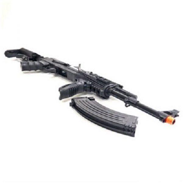 SRC Airsoft Rifle 4 src ak47 tac gen ii air soft rifle electric full auto aeg airsoft gun black(Airsoft Gun)