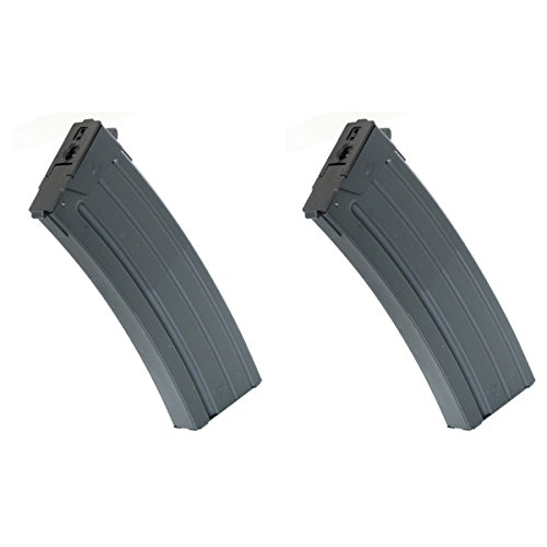 Airsoft Shopping Mall  1 Airsoft Shooting Gear CYMA 2pcs 500rd Hi-Cap Mag Magazine For CM043 GALIL SAR AEG Black