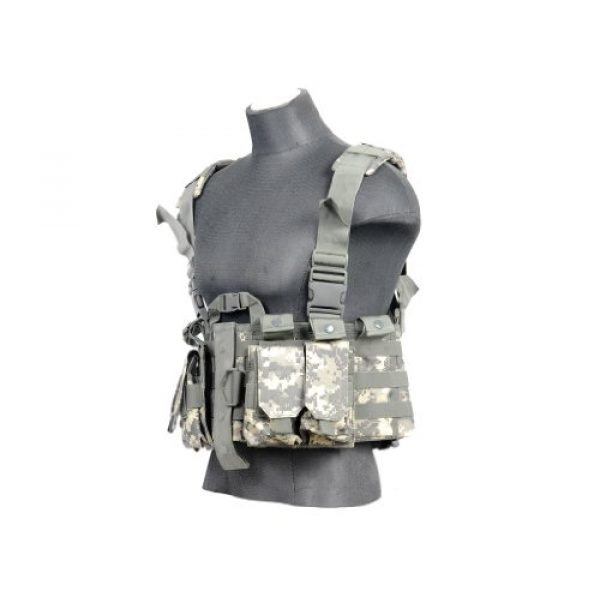 Lancer Tactical Airsoft Tactical Vest 1 Lancer Tactical CA-306A M4 Chest Harness in ACU