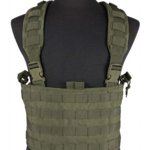enmu pancho Airsoft Tactical Vest 1 Limited edition Condor Gen.4 Tactical MOLLE OPS Chest Rig - OD Green
