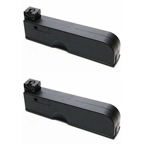 Airsoft Shopping Mall  1 Airsoft Shooting Gear 2pcs Pack CYMA 55rd Magazine for CYMA CM701 Airsoft AEG Black