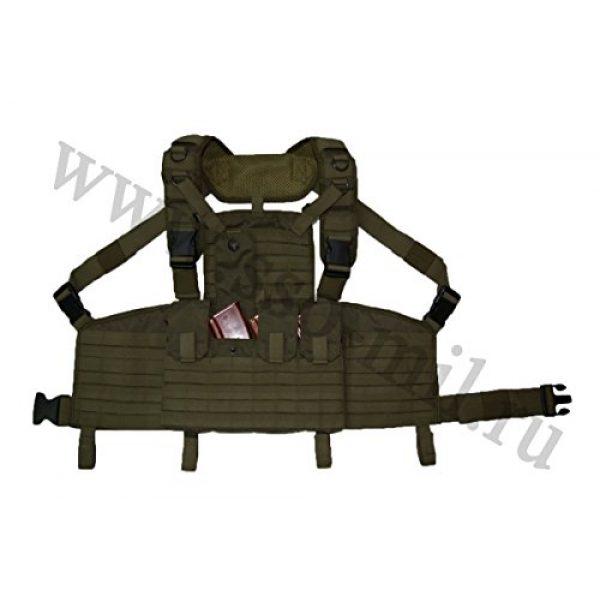SSO/SPOSN Airsoft Tactical Vest 3 SSO/SPOSN Russian Military Chest Rig Legat M.O.L.L.E