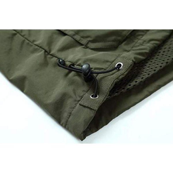 DAFREW Airsoft Tactical Vest 6 DAFREW Casual Vest Thin Section Spring and Autumn Vest Men's Multi-Pocket Outdoor Photography Vest Middle-Aged Vest (Color : Khaki, Size : M)