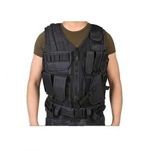 NEW VIEW Airsoft Tactical Vest 1 New View Tactical Vest Multi-Function Combat Training Suit with Multiple Pockets for 600D Encryption Nylon