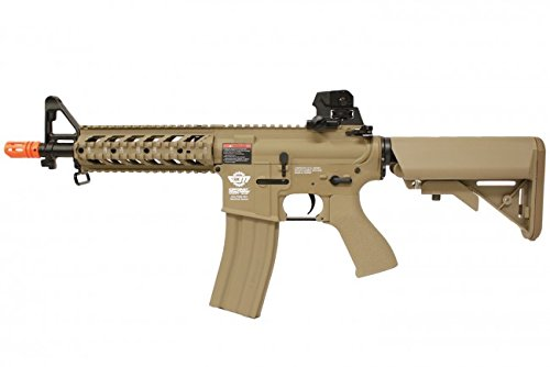 G&G  1 combat machine m4 raider shorty w/ polymer ris (tan/cqb) (battery and charger package)(Airsoft Gun)