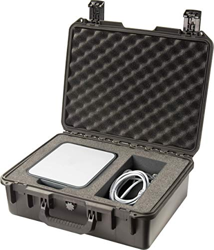 Pelican Pistol Case 4 Pelican Hardigg Storm iM2400 Case With Foam (Black), One Size (IM2400-00001)