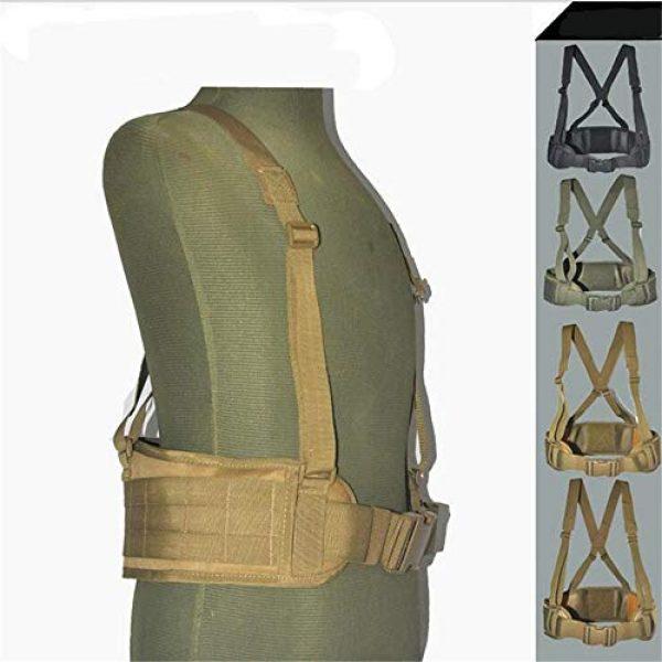 HWZ Airsoft Tactical Vest 3 HWZ Molle Portable Girdle Tactical Belt Nylon Outdoor Multifunctional Tactical Belt Vest