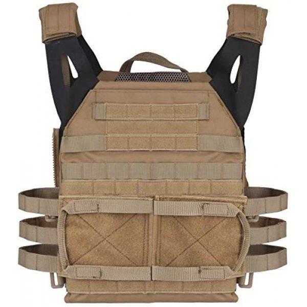 NICEFISH Airsoft Tactical Vest 2 NICEFISH Outdoor Tactical Expansion Protection JPC Vest Version 2.0 Amphibious Combat Vest