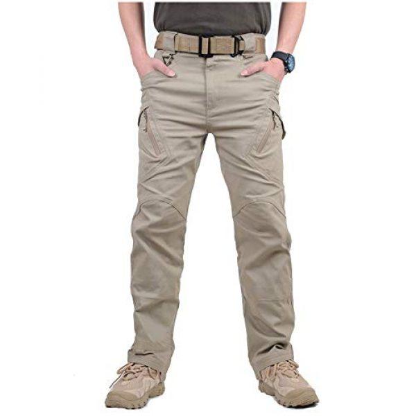 CARWORNIC Tactical Pant 2 Gear Men's Assault Tactical Pants Lightweight Cotton Outdoor Military Combat Cargo Trousers