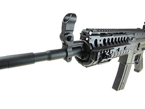 Jing Gong (JG)  4 JG airsoft m 4 s-system full metal gearbox black aeg rifle w/ integrated ris and high performance tight bore barrel - newest enhanced model(Airsoft Gun)