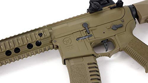 Elite Force  2 Elite Force Ares Amoeba AM-008 AEG Gen.5 Airsoft Rifle in Tan