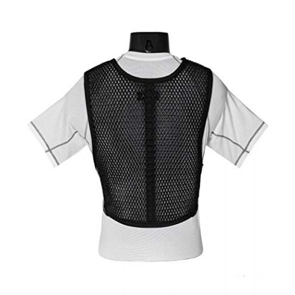 221B Tactical Airsoft Tactical Vest 2 221B Tactical Dry Cooling Vest - Body Armor Ventilation for Police, Military, Airsoft, Motorcycle, Paintball & Outdoor Games. Increase Air Flow Under Tactical Gear and Chest Rig/Carrier