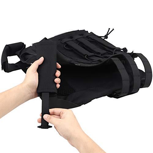 DETECH Airsoft Tactical Vest 5 DETECH Molle Adaptive Vest JPC Tactical Hunting Airsoft Vest Multicam Black