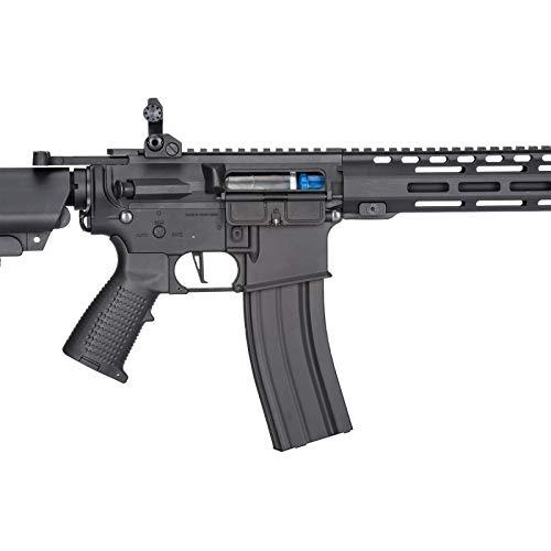 Lancer Tactical  2 Lancer Tactical Classic Army Skirmish Series ML10 M4 M-LOK AEG Airsoft Rifle Black 350 FPS