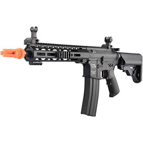 Lancer Tactical  4 Lancer Tactical Classic Army Skirmish Series ML10 M4 M-LOK AEG Airsoft Rifle Black 350 FPS