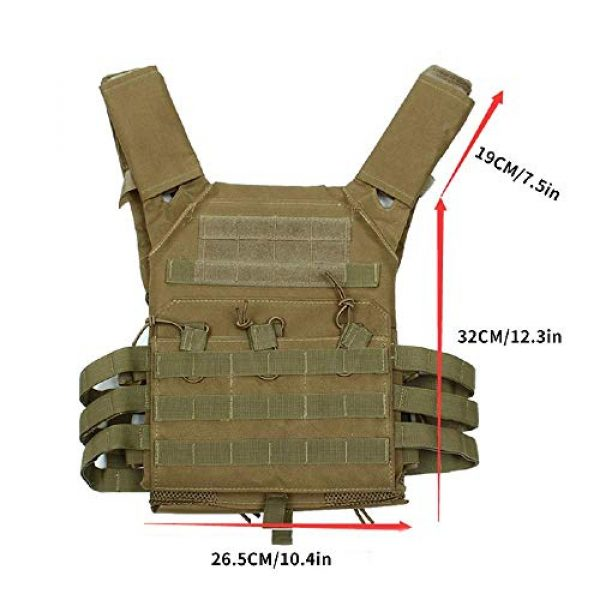 BGJ Airsoft Tactical Vest 4 Hunting Tactical Body Armor JPC Molle Plate Carrier Vest Outdoor CS Game Paintball Airsoft Vest Military Equipment