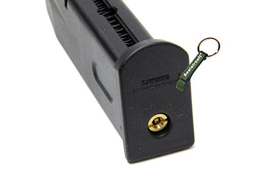 KJW  4 KJ Works 25rds Airsoft 6mm Gas Magazine For HFC M190 / Marui M9 / M92F GBB -Mobile Ring Included