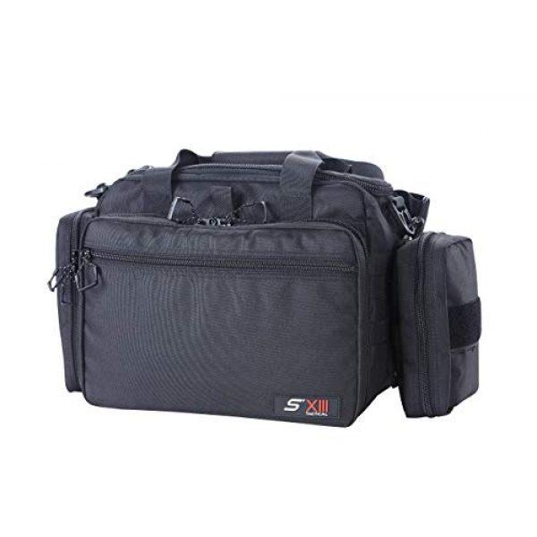 SXIII Pistol Case 1 SXIII S13 Tactical Pistol Range Bag 1000D Ballistic Denier (Light)