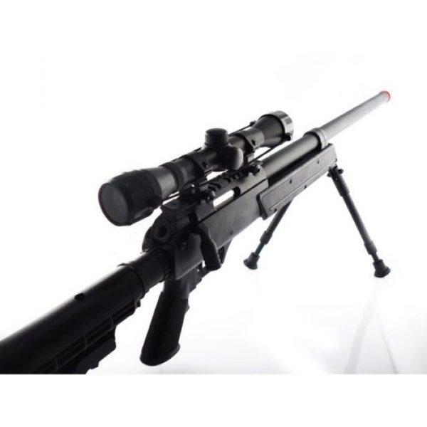 CYMA Airsoft Rifle 3 470 fps cyma aps sr-2 modular full metal bolt action sniper rifle w/ scope & bi-pod pkg - enhanced 2010 model(Airsoft Gun)