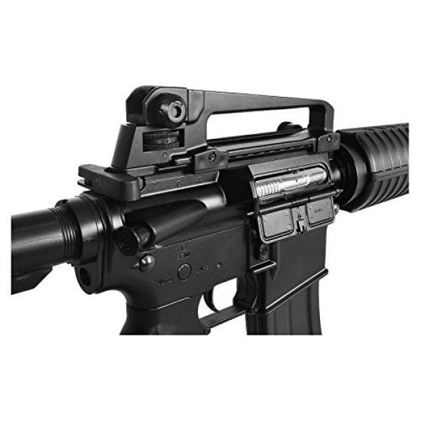 Lancer Tactical Airsoft Rifle 4 lancer tactical lt-01bl electric airsoft gun fps-400 m4 commando full & semi auto v2 full metal gearbox(Airsoft Gun)