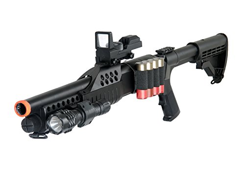 UKARMS  4 UKARMS Tactical Specialist RIS Spring Airsoft Shotgun FPS-320 w/Accessories