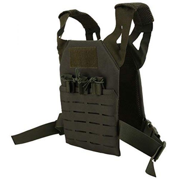 Demeras Airsoft Tactical Vest 1 Demeras Multifunctional Tactics Vest Lightweight Thick Outdoor Vest for Kids