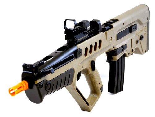Umarex  1 umarex tavor 21 desert tan aeg airsoft rifle w/ reflex dot sight(Airsoft Gun)