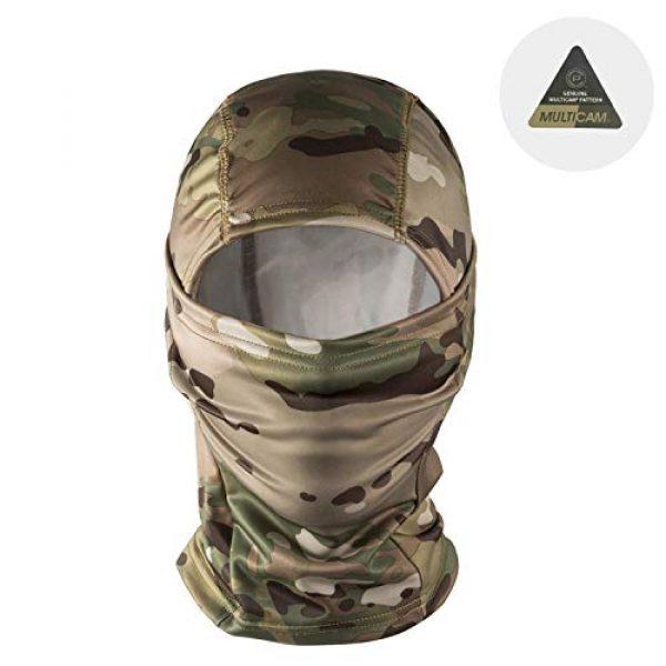 OneTigris Airsoft Tactical Vest 6 OneTigris Multicam Chest RIG & Tactical Hood & Half Face Mask