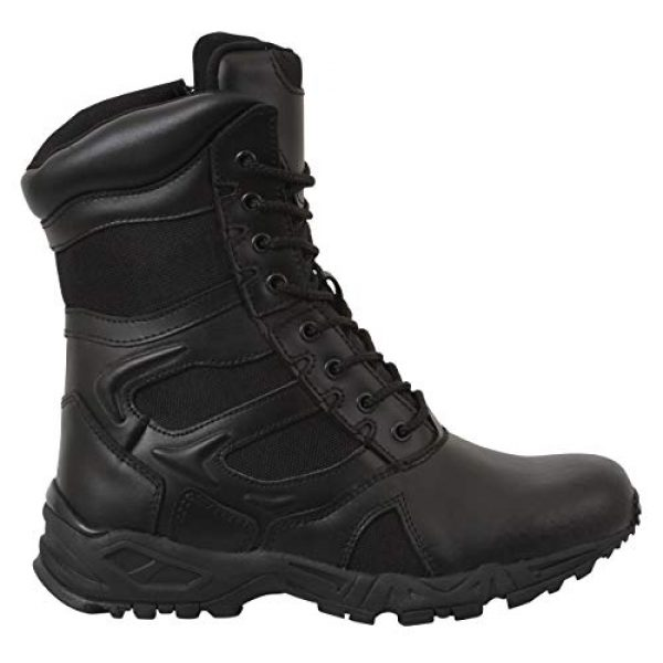 Rothco Combat Boot 3 Forced Entry Deployment Boot with Side Zipper
