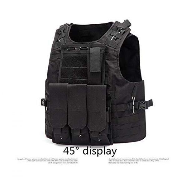 NEW VIEW Airsoft Tactical Vest 4 NEW VIEW Tactical Vests Amphibious Combat Vest