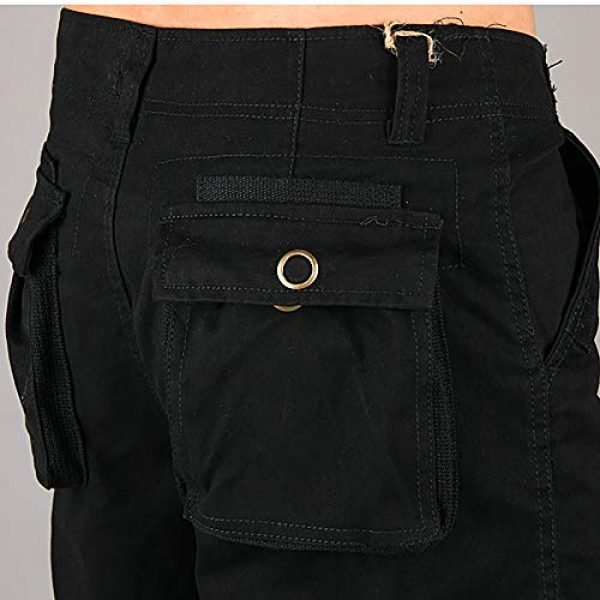 Raroauf Tactical Pant 6 Men's Military Tactical Pants Casual Cargo Pants Combat Trousers with Multi-Pocket