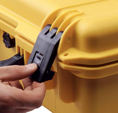 Pelican Pistol Case 6 Pelican Hardigg Storm iM2400 Case With Foam (Black), One Size (IM2400-00001)